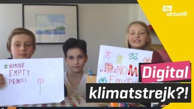 Digital skolstrejk för klimatet