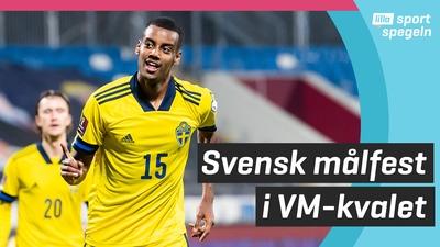 Ny svensk seger i VM-kvalet i fotboll