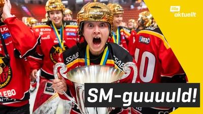 Luleå är svenska mästare i ishockey