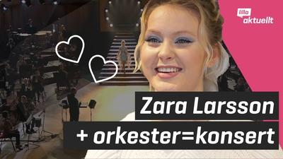 Vi träffar Zara Larsson!