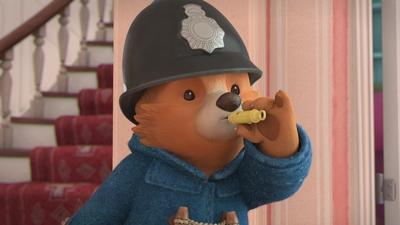 Paddington träffar en poliskonstapel