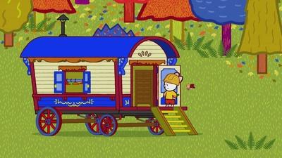 En cirkusvagn