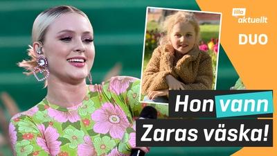Hon vann Zara Larssons signerade väska!