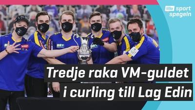 Curlingstjärnorna i Lag Edin världsbäst - igen!