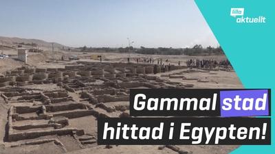 Antik stad hittad i Egypten!
