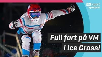 Vann VM i udda skridskosporten