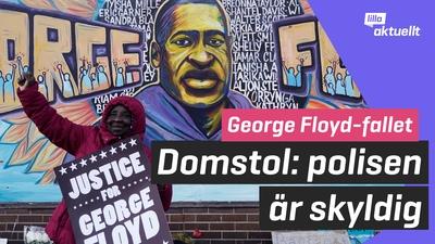 Nu döms polisen som orsakade George Floyds död