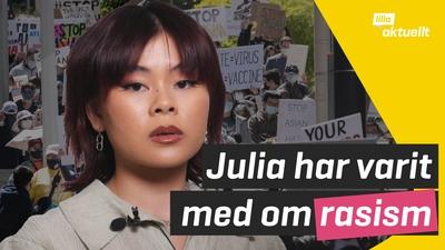 Julia Dang har upplevt rasism