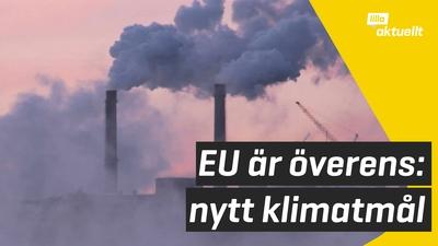 EU överens om nya klimatmål
