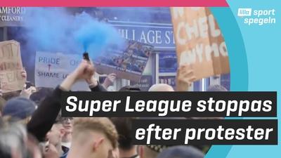 Nya besked om Super League - läggs ner efter protester