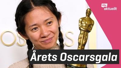 Filmer prisades på Oscarsgalan