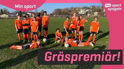 Gräspremiär för fotbollsspelarna i FK Karlskrona
