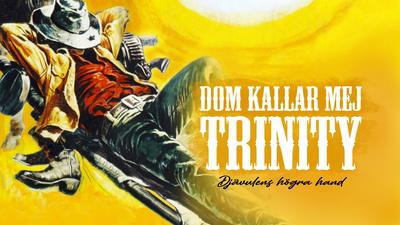 Trinity (Terence Hill) och hans bror Bambino (Bud Spencer).