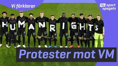 Varför protesteras det mot fotbolls-VM i Qatar?