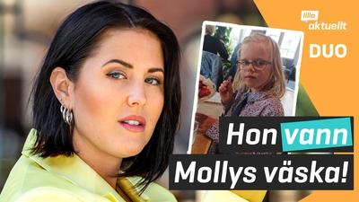 Vinnaren av Molly Sandéns signerade väska