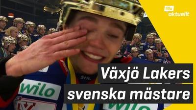 SM-guld i ishockey till Växjö