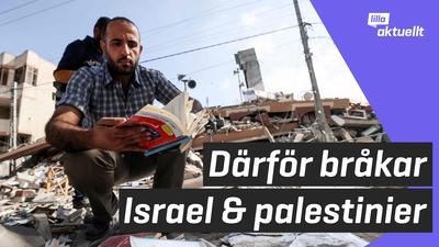 Därför bråkar Israel och palestinier