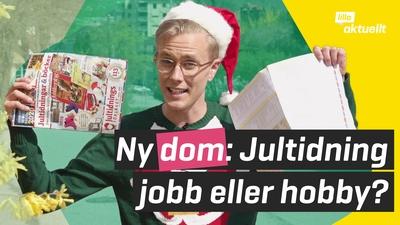 Sälja jultidningar: ett riktigt jobb!