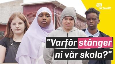 Kronans skola i Trollhättan läggs ner