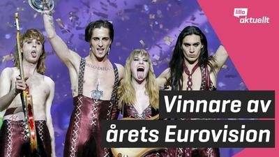 Italien vann Eurovision!