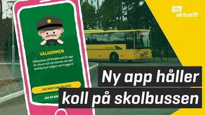 App håller koll på bussen