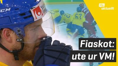 Sverige ute ur hockey-VM