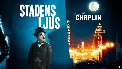 Luffaren (Charlie Chaplin) och proffsboxaren (Hank Mann).