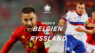 Belgien - Ryssland