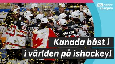 Kanada världsmästare i ishockey för 27:e gången!