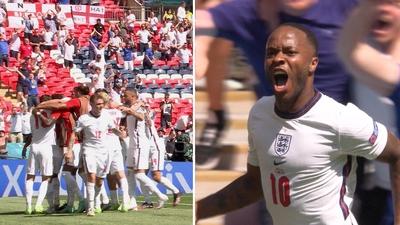 Se Sterlings segermål mot Kroatien