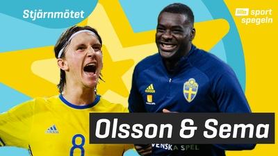 Vi träffar EM-stjärnorna Sema & Olsson!