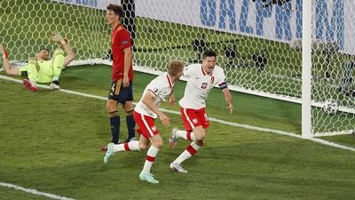 Lewandowski starkast i straffområdet – sätter 1-1