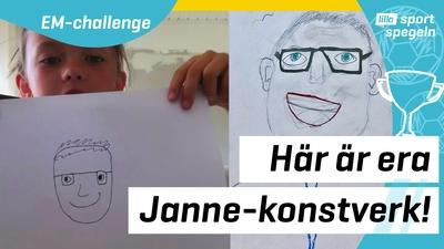 Här är era konstverk av Janne Andersson!