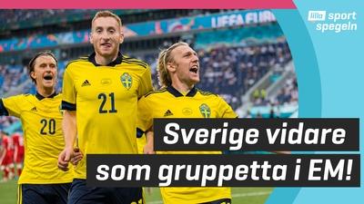 Sverige vidare som gruppetta i EM!