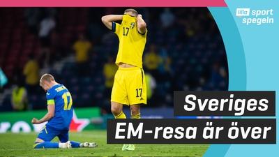 Sverige utslaget ur EM - föll mot Ukraina!