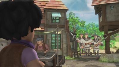 Fångade i byn