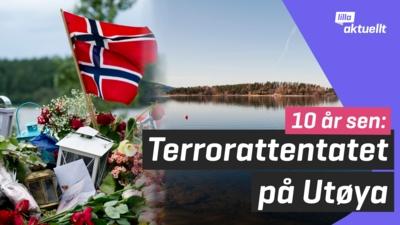10 år sedan terrordåden på Utøya