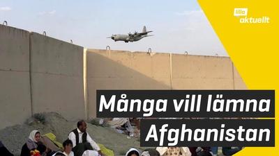 Sverige evakuerar människor från Afghanistan