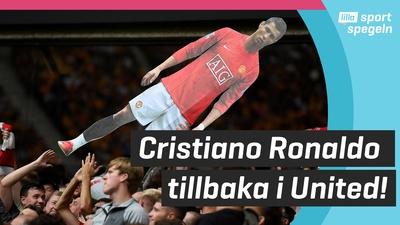 Cristiano Ronaldo tillbaka i Manchester United