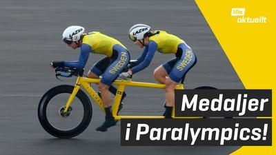 Två nya medaljer i Paralympics