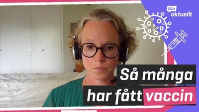 Så är läget med vaccinationerna i Sverige