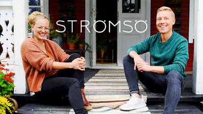 Elin Skagersten-Ström och Nicke Aldén i Strömsö.