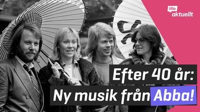 ABBA släpper låtar efter 40 år