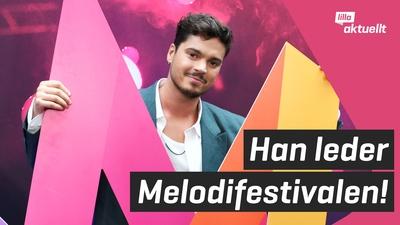 Han programleder Melodifestivalen 2022!