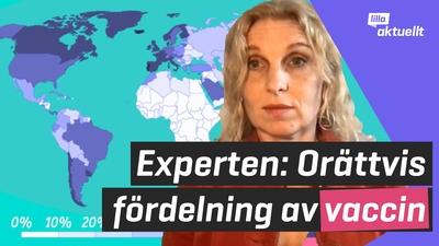 Experten: Orättvis fördelning av corona-vaccin