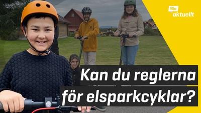 Få koll på reglerna för elsparkcykel här