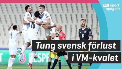 Sverige förlorade mot Grekland