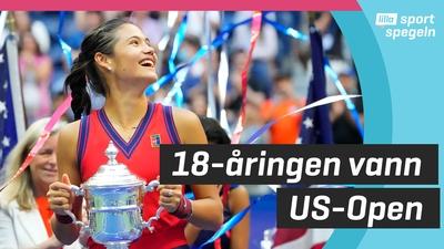 Tonåring skrällde och vann US Open-tennisen