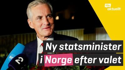 Ny statsminister i Norge