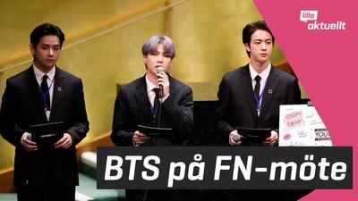 BTS uppträdde för FN